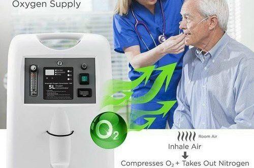 Máy tạo Oxy Medical Spa 5l hỗ trợ bệnh nhân virut SARS-Cov-2