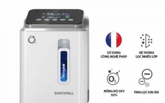 Máy tạo Oxy Santafell người bạn mang công nghệ Pháp